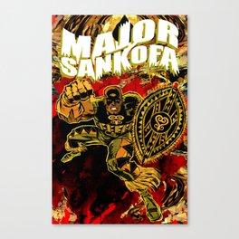 MAJOR SANKOFA Canvas Print