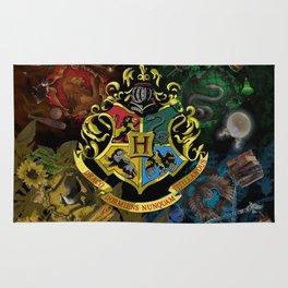 Hogwarts Logo Houses Rug