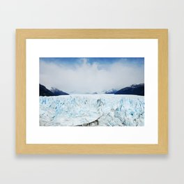 Ice Ice Baby - Patagonia, Argentina Framed Art Print