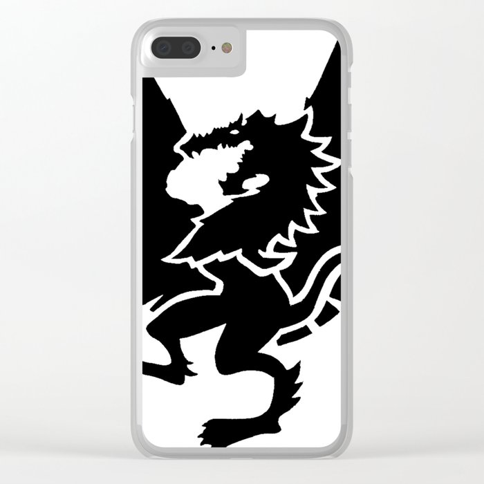 Triple Threat of Tamriel Clear iPhone Case