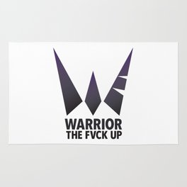 Warrior the Fvck Up Rug