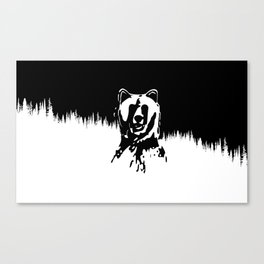 Bear Spirit Canvas Print