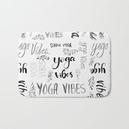 Yoga Vibes Bath Mat