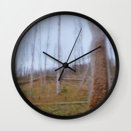 Forest Fires Wall Clock