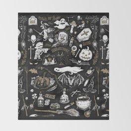 Witchcraft Throw Blanket