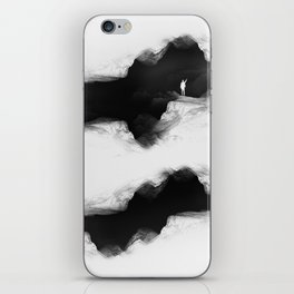 Hello from the The White World iPhone Skin