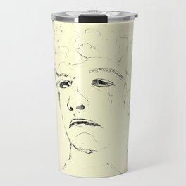 Suppress sadness Travel Mug