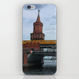 The Oberbaum Bridge, BERLIN iPhone Skin