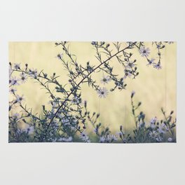 Wild Asters Botanical Rug