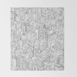 Isometric Urbanism pt.1 Throw Blanket