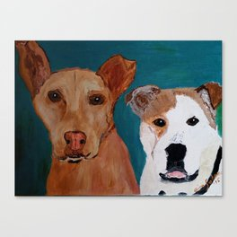 Milo and Fred Canvas Print