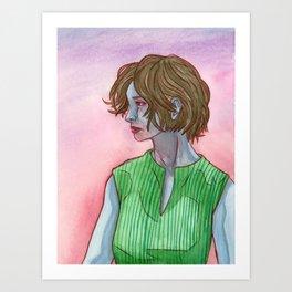 Vampire III Art Print