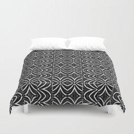 Black and White Tribal Print Duvet Cover