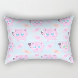 Jigglypuff pattern Rectangular Pillow