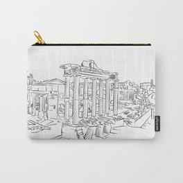 Ancient Rome roman forum Carry-All Pouch