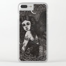 Lilith Clear iPhone Case