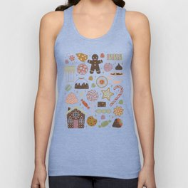 In the Land of Sweets Unisex Tank Top