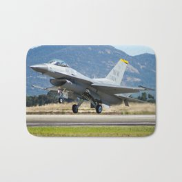 F-16 Fighting Falcon Bath Mat