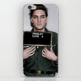 Army Elvis iPhone Skin