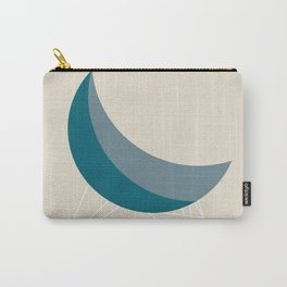 Blue Coconut Chair by George Nelson Carry-All Pouch