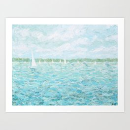 Annapolis Harbor Art Print