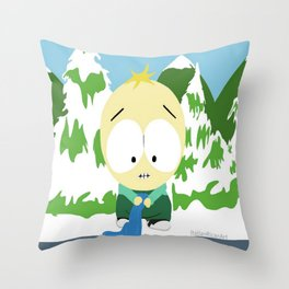 Baby Butters Throw Pillow