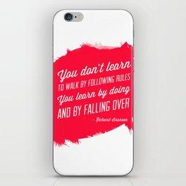 Richard Branson success quote iPhone Skin