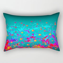 Faerie Garden Vignette   Flower   Flowers   Rectangular Pillow