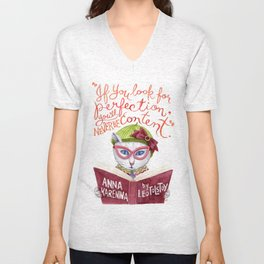 Looking for Purr-fection Unisex V-Neck