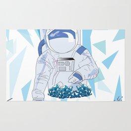 Crystal Astronaut Rug