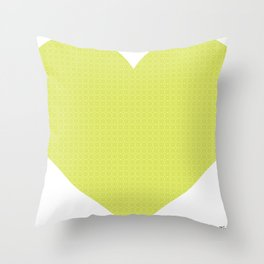 I love you this much... (green) Throw Pillow