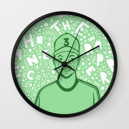 Chance The Rapper Wall Clock