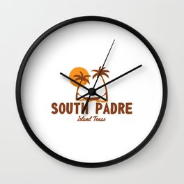 South Padre Island. Wall Clock