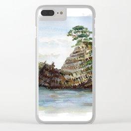Whangapoua island , Coromandel peninsula , New Zealand Clear iPhone Case