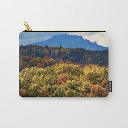 A Grand Blue Ridge View Carry-All Pouch