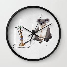 What a drag! (Wordless) Wall Clock