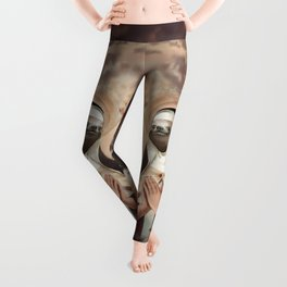 Sloth Mother Leggings