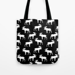 Moose Trot // Black Tote Bag
