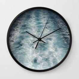 Sea Trails 3 Wall Clock