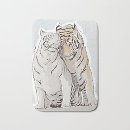 Tiger Love Bath Mat