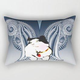 HereKittyKitty Rectangular Pillow