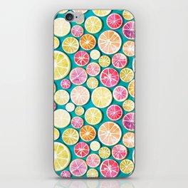 Citrus bath iPhone Skin