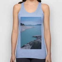 Abraham Lake Unisex Tank Top
