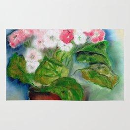 Vaso com flores V (Vase with flowers V) Rug