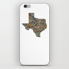 Map of Texas iPhone Skin