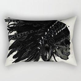 Warbonnet Skull Rectangular Pillow