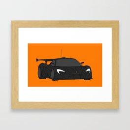 McLaren P1 GTR Framed Art Print