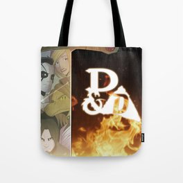 """Exposition Impossible"" - Dungeons & Doritos Tote Bag"