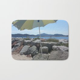 At the Bay of St. Tropez, France Bath Mat