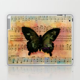 Butterfly Collage 7G by Kathy Morton Stanion Laptop & iPad Skin